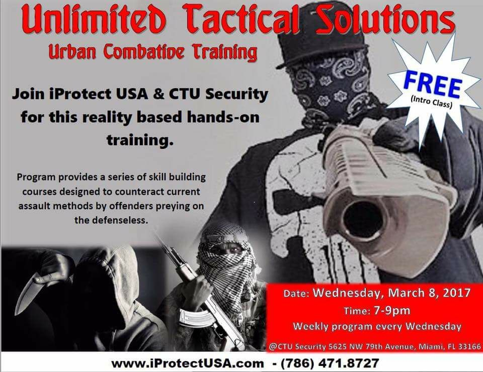 Unlimited Tactical Solutions / Urban Combative Training – CTU Security
